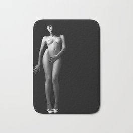 Nude - photography in Black white - Art-FF77 2010 Bath Mat