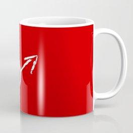 symbol of man 9 Chalk version Coffee Mug