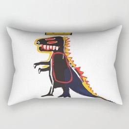 Basquiat Dinosaur Rectangular Pillow