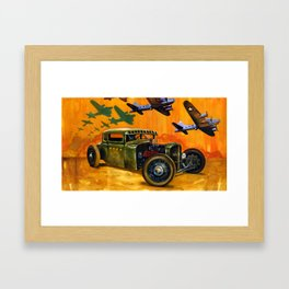 Pride of the fleet Framed Art Print