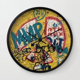 the Berlin wall Wall Clock