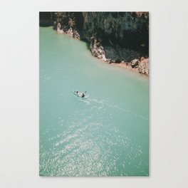 Canoe Life Canvas Print