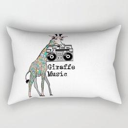 Giraffe Music Rectangular Pillow