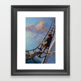 The Death-Defying Pepper Roux Framed Art Print