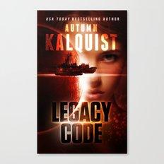 Legacy Code Book Cover Print Canvas Print