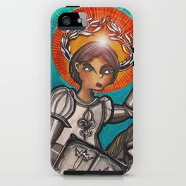 Joan of Arc iPhone Case