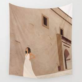 New White Dress II Wall Tapestry