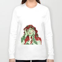 poison ivy Long Sleeve T-shirts featuring poison ivy by bzablackis
