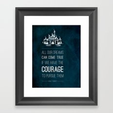Dreams come true Framed Art Print