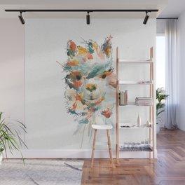 + Watercolor Alpaca + Wall Mural