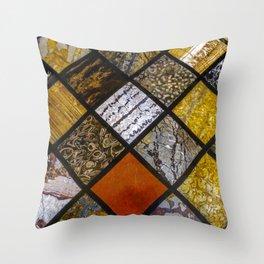 Textures. Throw Pillow