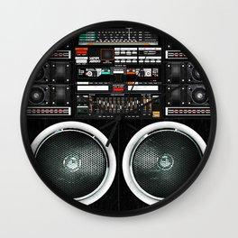 Boombox Ghetto Blaster J1 Super Jumbo Wall Clock