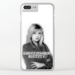 GOVERNOR BETTS Clear iPhone Case