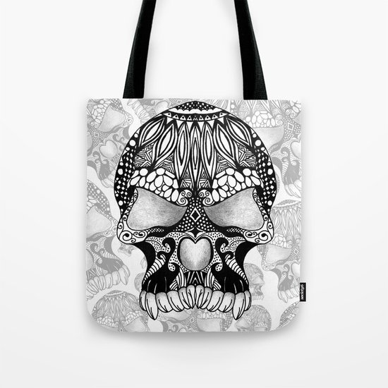 Sugar Skull.  Tote Bag