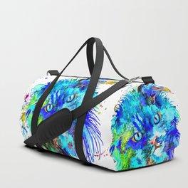 Persian Cat Duffle Bag