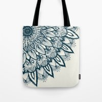 mandala Tote Bags featuring Mandala by rskinner1122