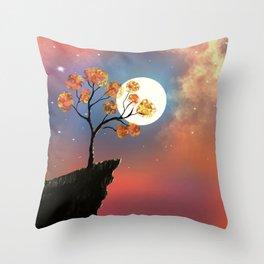 Solitute Throw Pillow