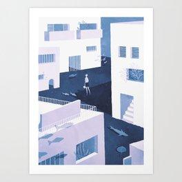 foreigner Art Print