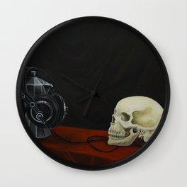 Coffee… Music! Death Wall Clock