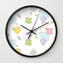 Little Farm 2 Wall Clock