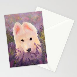 In the lavender fields Stationery Cards