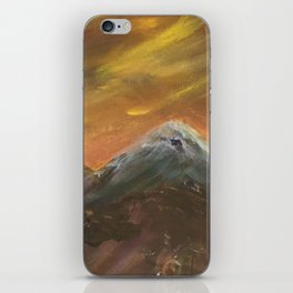 Sunset Mountains iPhone Skin