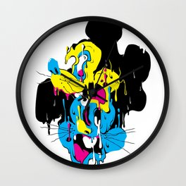 Drip Mouse Wall Clock