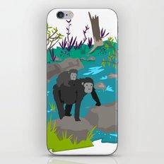 Gorillas iPhone Skin