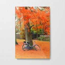 Amsterdam in the Fall Metal Print