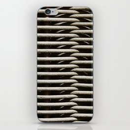 Background wicker wood rods iPhone Skin