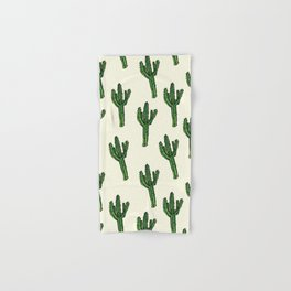 Cactus. Hand & Bath Towel