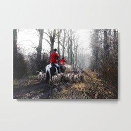 Red Coats. Metal Print