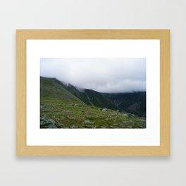 Mountain Hikes Framed Art Print