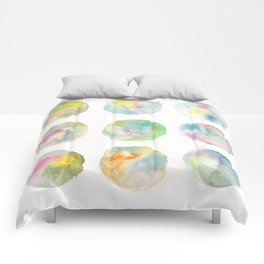 Imperfect Circles Comforters