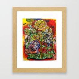 The Heart of the American Dream  Framed Art Print
