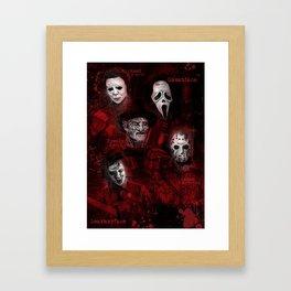 Killer Montage Framed Art Print