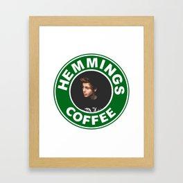 Hemings Coffee Framed Art Print