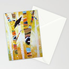 Raven Hanging the Sun Stationery Cards