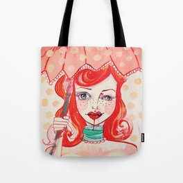 The Strawberry Tote Bag