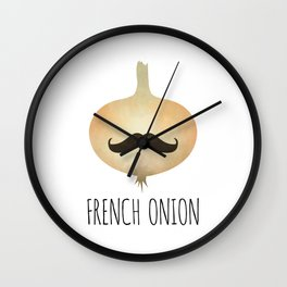 French Onion Wall Clock