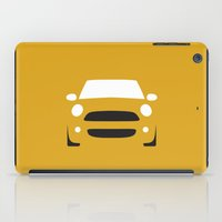 mini cooper iPad Cases featuring Mini Cooper ( 2007 ) by Nick Steen