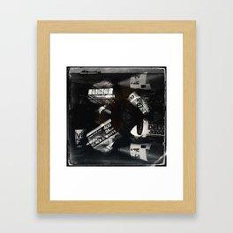 Believe In Film 35MM Sq Print Framed Art Print
