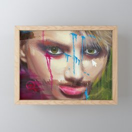 Evidencias de una imagen III Framed Mini Art Print