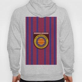 Catalonia Football Badge Hoody