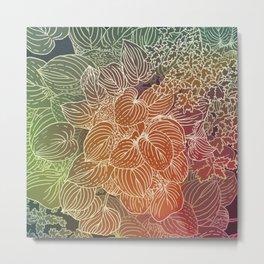 spectrum garden Metal Print