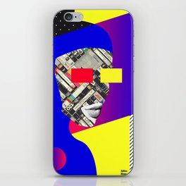 Space Portrait iPhone Skin