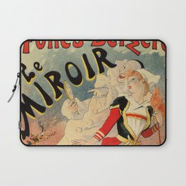 French belle epoque mime theatre advertising Laptop Sleeve