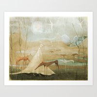 Finding Solace Art Print