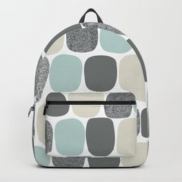 Wonky Ovals in Teal Backpack