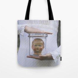 Doll in a jar Tote Bag